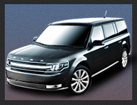 Ford Flex Crossover Airport Service Dublin CA to/from SJC
