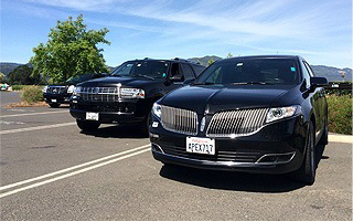 Lincoln Navigator and MKT Town car
