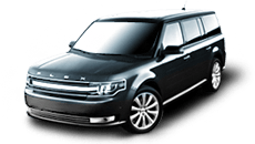 Black Ford FLEX SUV/Crossover 4WD 2014 Model